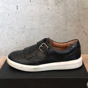 Frye leather fringe Shoes